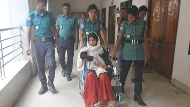Court sends actress Nawshaba to jail denying bail