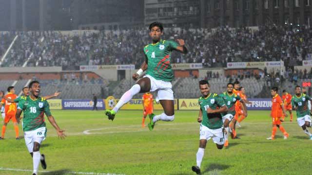 Bangladesh beat Bhutan in SAFF Championship