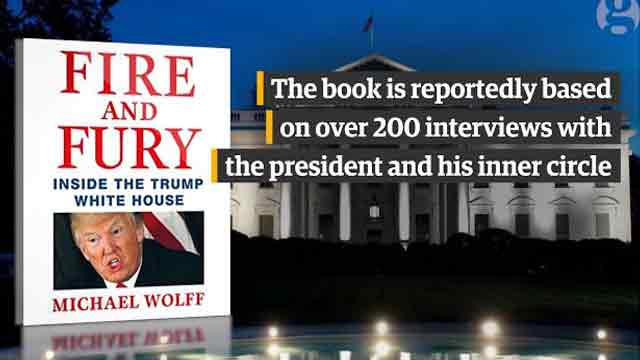 Inside Trump's White House: wildest claims in new book 'Fire and Fury'
