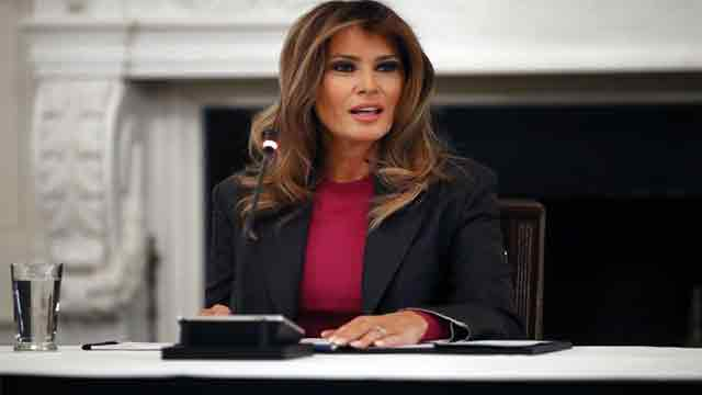 Melania Trump's roundtable discussion on cyber Safety, technology