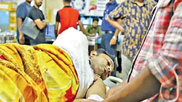 Rajib on life support