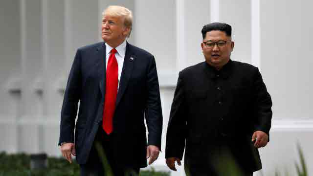 """NKorea to denuclearise """"very, very quickly"""": Trump"""