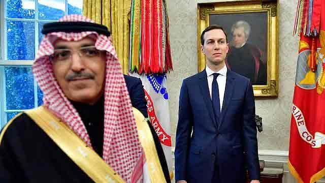 Jared Kushner meets Crown Prince of Saudi Arabia