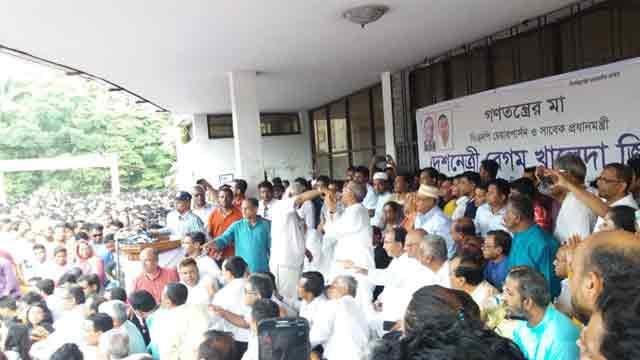 BNP observes hunger strike vowing no polls sans Khaleda Zia