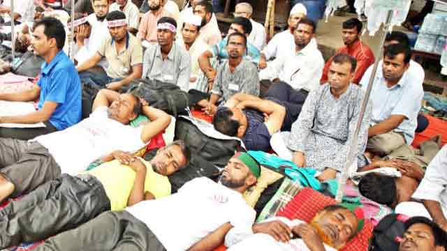 Over 250 teachers fall sick on 16th day