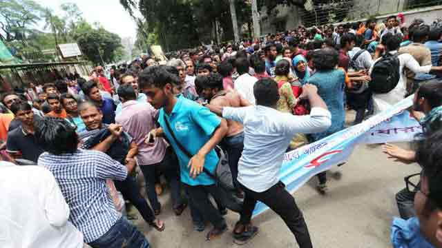 BCL men assault, attack DU students, teachers