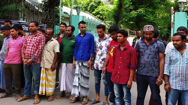 79 criminals held in Dhaka: Cops