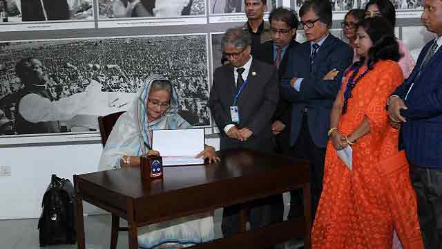 Hasina says anarchy by public univ students not acceptable