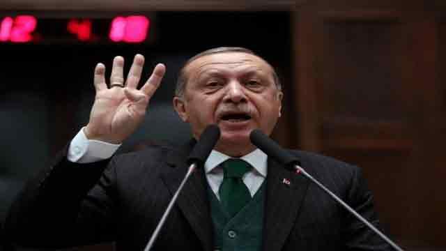 Erdogan urges world to resist US threat in Jerusalem vote