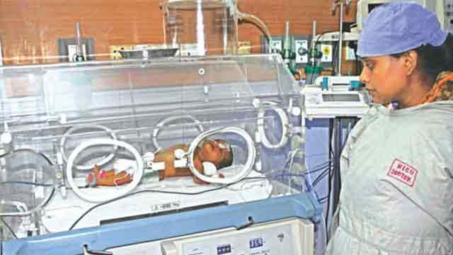 Probe body formed over exchange of baby girl-dead body in Ctg