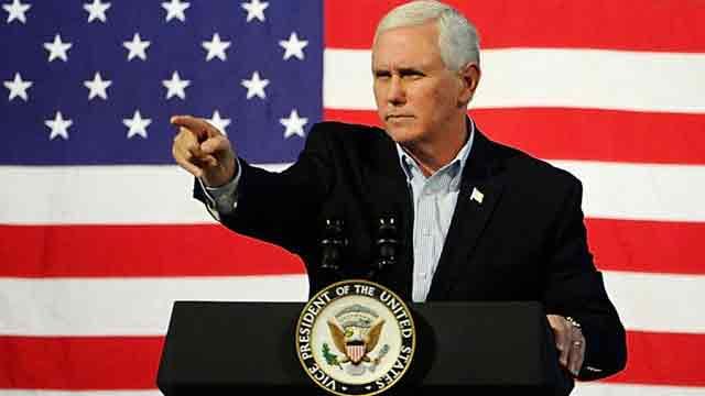 Pence warns Kim Jong-un not to 'play' Trump