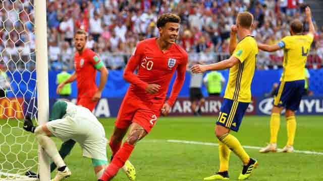 Dele Alli gives England 2-0 lead