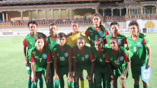 Bangladesh girls thrash Pakistan 14-0