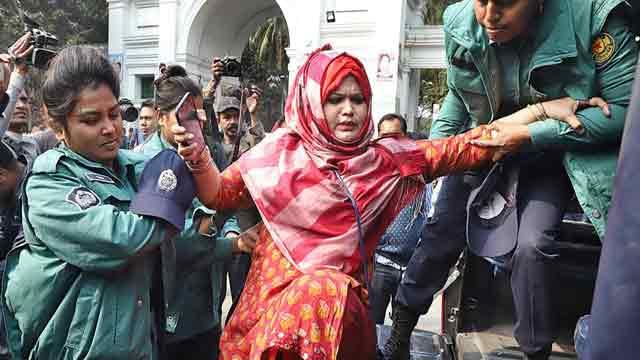 3,500 BNP men arrested