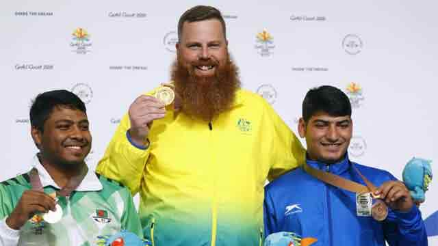 Shakil wins second silver for Bangladesh