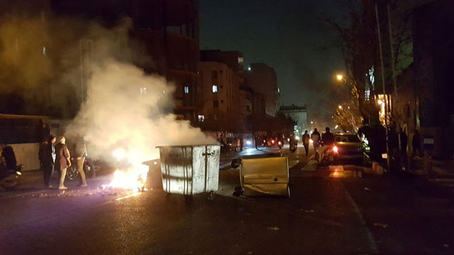 Protests hit Tehran, two demonstrators reported killed