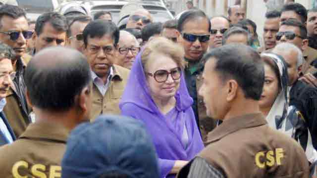 Khaleda Zia being harassed out of 'Hasina's vengeance', alleges BNP