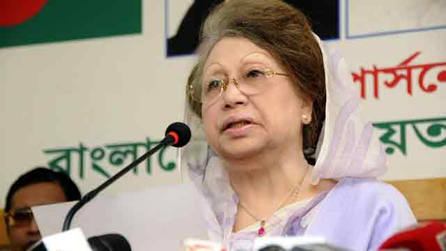 Khaleda Zia to sit with 20-party leaders Monday night