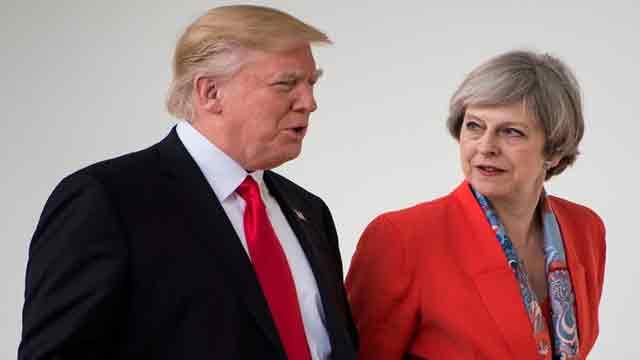 Trump cancels UK visit