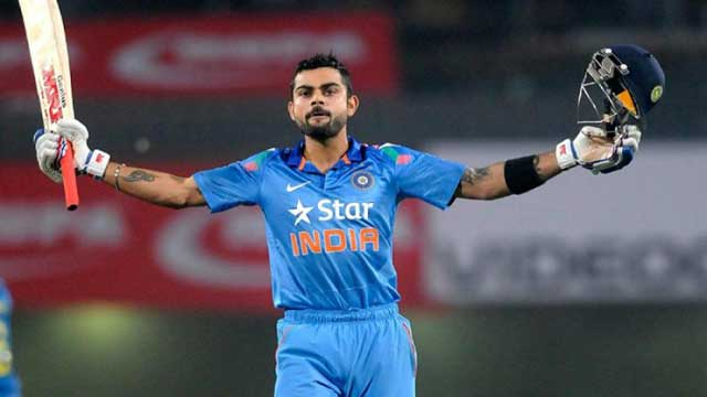 Kohli named ICC cricketer, captain of the year