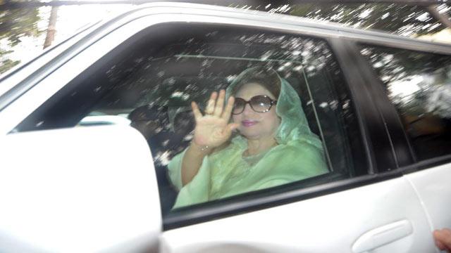 Khaleda Zia in Sylhet