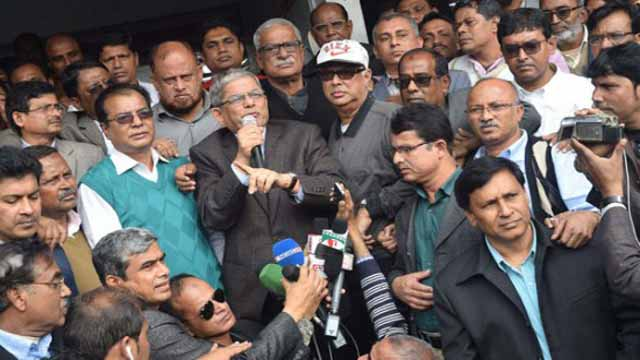 Alamgir accuses Ershad of influencing Rangpur polls