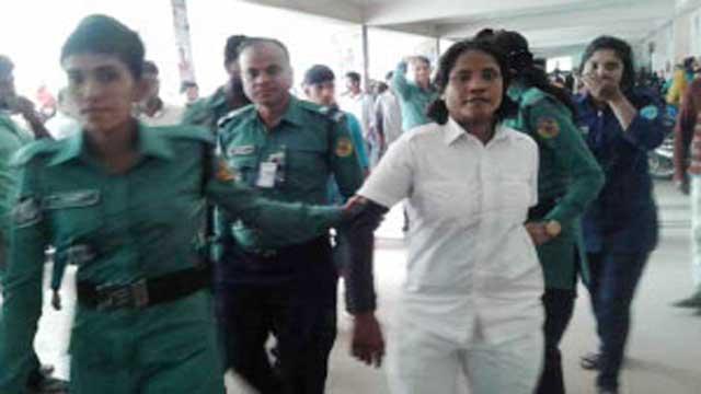চট্টগ্রামে মিয়ানমারের নারী গুপ্তচর আটক