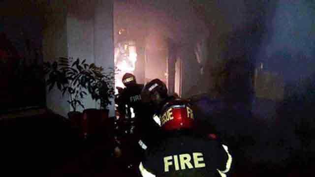 Security guard burnt alive in N'ganj market fire