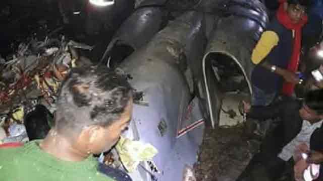 Two BAF aircraft crash in Cox's Bazar
