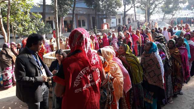 Voting at Rangpur city polls underway