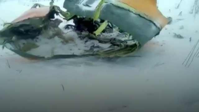 রাশিয়ায় বিমান বিধ্বস্তে ৭১ আরোহীর সবাই নিহত