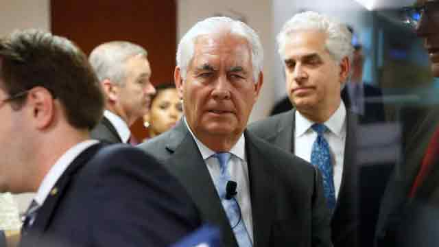 US ready for North Korea talks without preconditions, says Tillerson