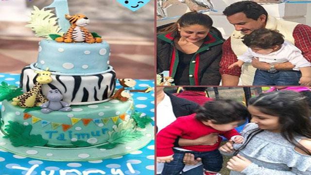 Saif-Kareena's son Taimur nawabi birthday celebration