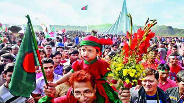Nation paying homage to Liberation War martyrs
