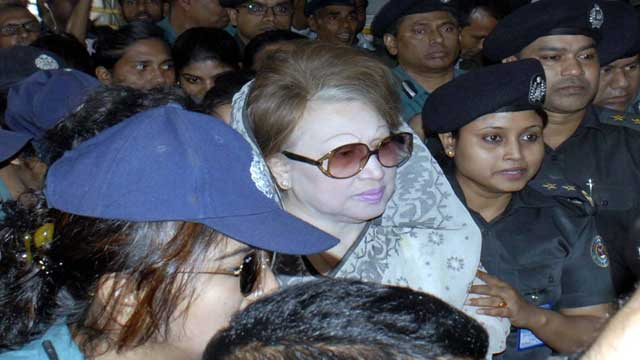 কুমিল্লার মামলায় খালেদা জিয়ার জামিন স্থাগিতাদেশ আদেশ রবিবার