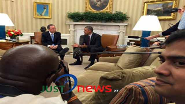 UN chief praises Obama's leadership