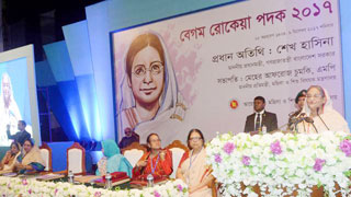 Hasina urges women to discover their own potential