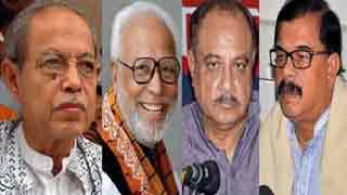 B Chy, Kader Siddique, Rab, Manna float 'Juktafront'