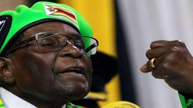 Zimbabwe's opposition leader calls on Mugabe to resign