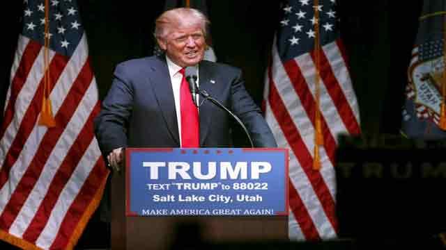 Reaction on Trump's speech in Salt Lake City