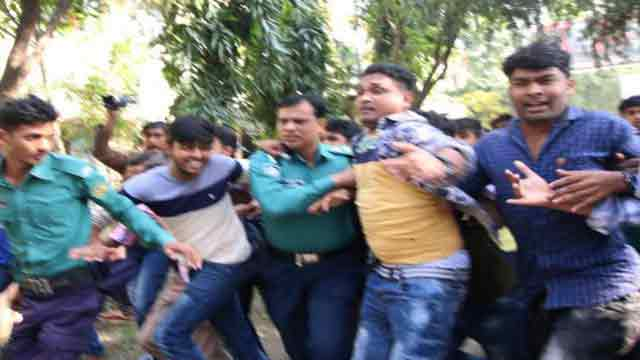 BCL activists attack IHT female students