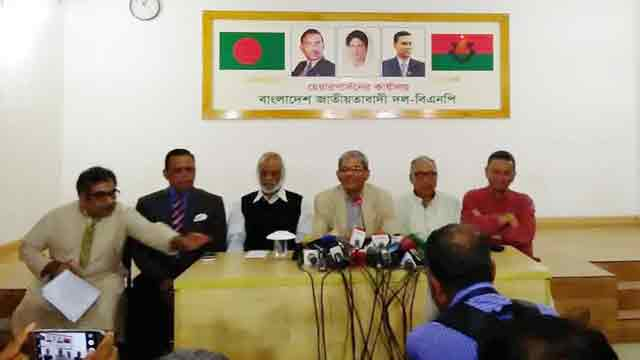 BNP threatens PM to take legal step for spreading 'false info'