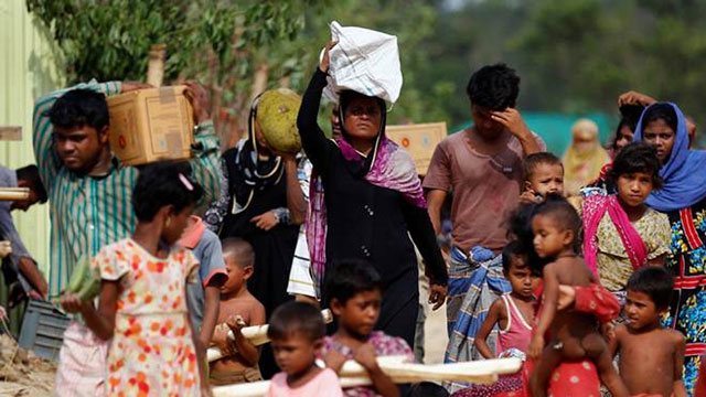New arrivals from Myanmar now 646,000: UN