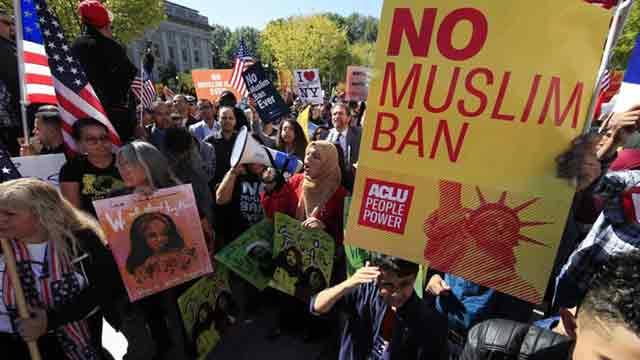 US Supreme Court backs Trump travel ban