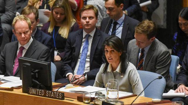 Trump declaration on Jerusalem isolates US at UN