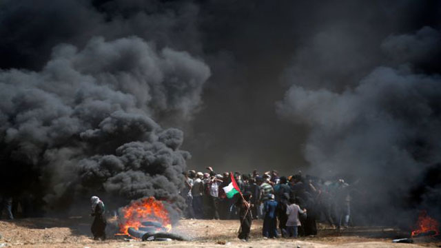 52 killed in Gaza violence before US embassy opening