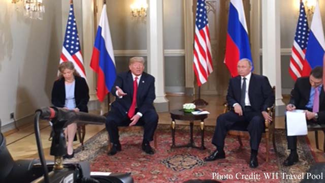 Getting along with Russia is a good thing: Trump, There are a lot of problem areas: Putin