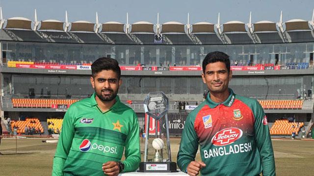 বাংলাদেশ-পাকিস্তান টি-২০ শুরু আজ