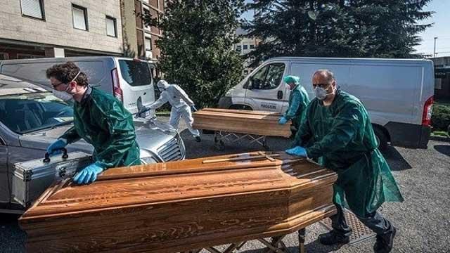 করোনা: ইতালিতে আজও ৬৮৩ জনের মৃত্যু