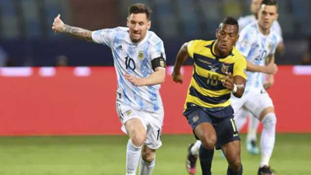 Scaloni hails Messi as 'the best player of all time'